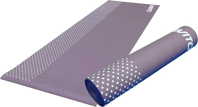 Viavito Leviato - Esterilla de yoga unisex, 6 mm, con correa de transporte, morado, talla única: Amazon.es: Deportes y aire libre