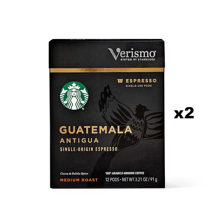 Starbucks Guatemala Antigua Espresso Verismo Pods (24 Count)