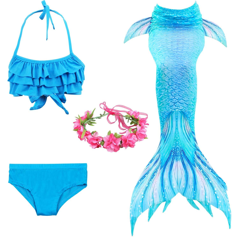 Traje de baño Niña Colas de Sirena para Nadar Sea-Maid ...