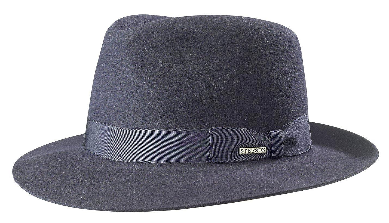 Stetson Penn Fur Felt Bogart Hat at Amazon Men s Clothing store  3302a61b1b2
