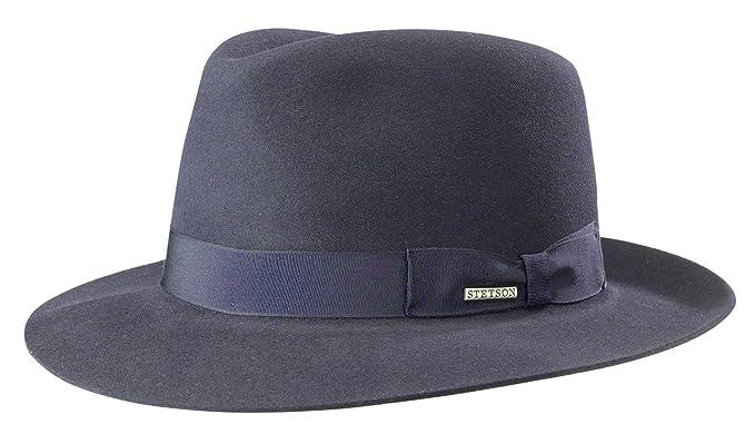 Stetson Penn Fur Felt Bogart Hat at Amazon Men s Clothing store  5972557a539e