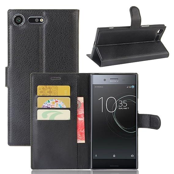 big sale 1f852 ee695 Amazon.com: JARNING Sony Xperia XZ Premium G8141 G8142 Case Leather ...
