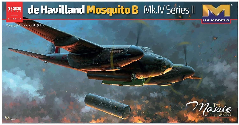 HKモデル 1/32 モスキート B. Mk.IV シリーズ2 プラモデル 01E015 B00VWRPQMC