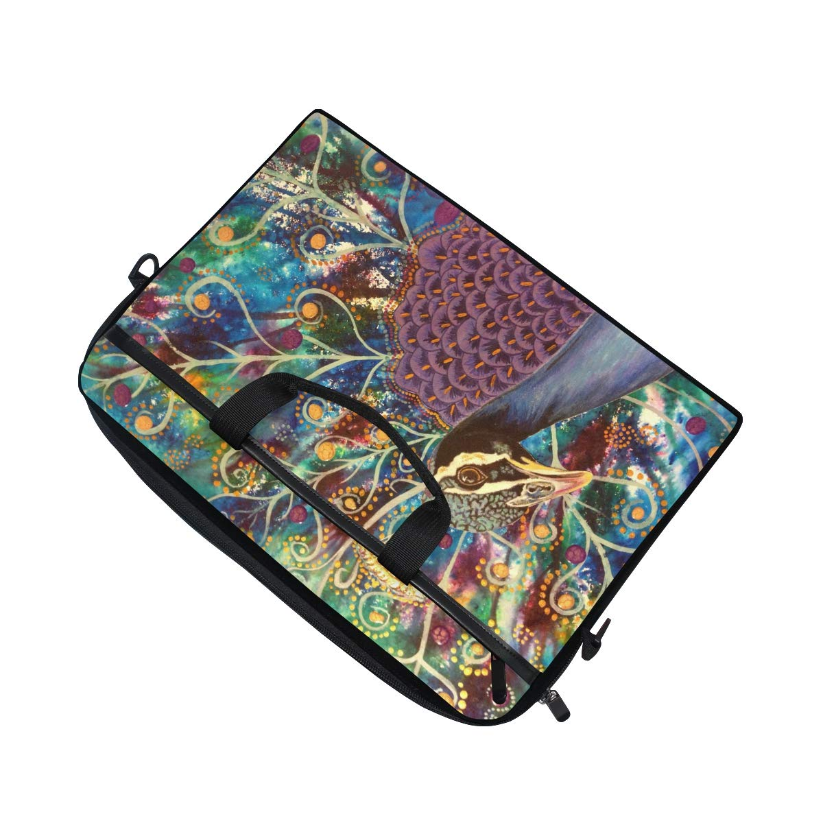 Handbags Shoulder Bags Briefcases Suitable for 15 Inch Computers Peacockmens and Womens Computer Bags