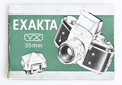 Amazon Exakta Vx 35mm Camera Instructions Manual Everything Else