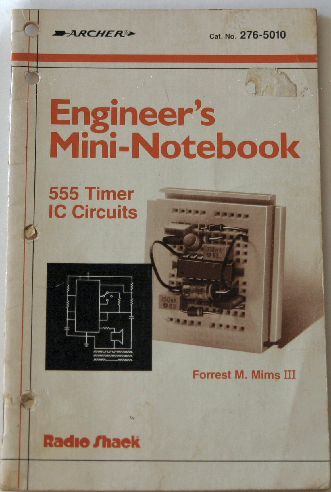 Engineers Mini Notebook 555 Timer Ic Circuits Catno 276 5010 Circuit Forrest M Iii Mims Books