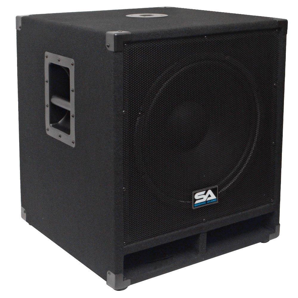 Seismic Audio - Baby-Tremor - 15'' Pro Audio Subwoofer Cabinet - 300 Watts RMS - PA/DJ Stage, Studio, Live Sound Subwoofer by Seismic Audio