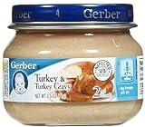 Gerber 2nd Foods Meats-Turkey & Gravy-2.5 Oz-24