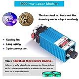 Upgrade 3000MW Laser Engraver CNC 3018 Pro Router