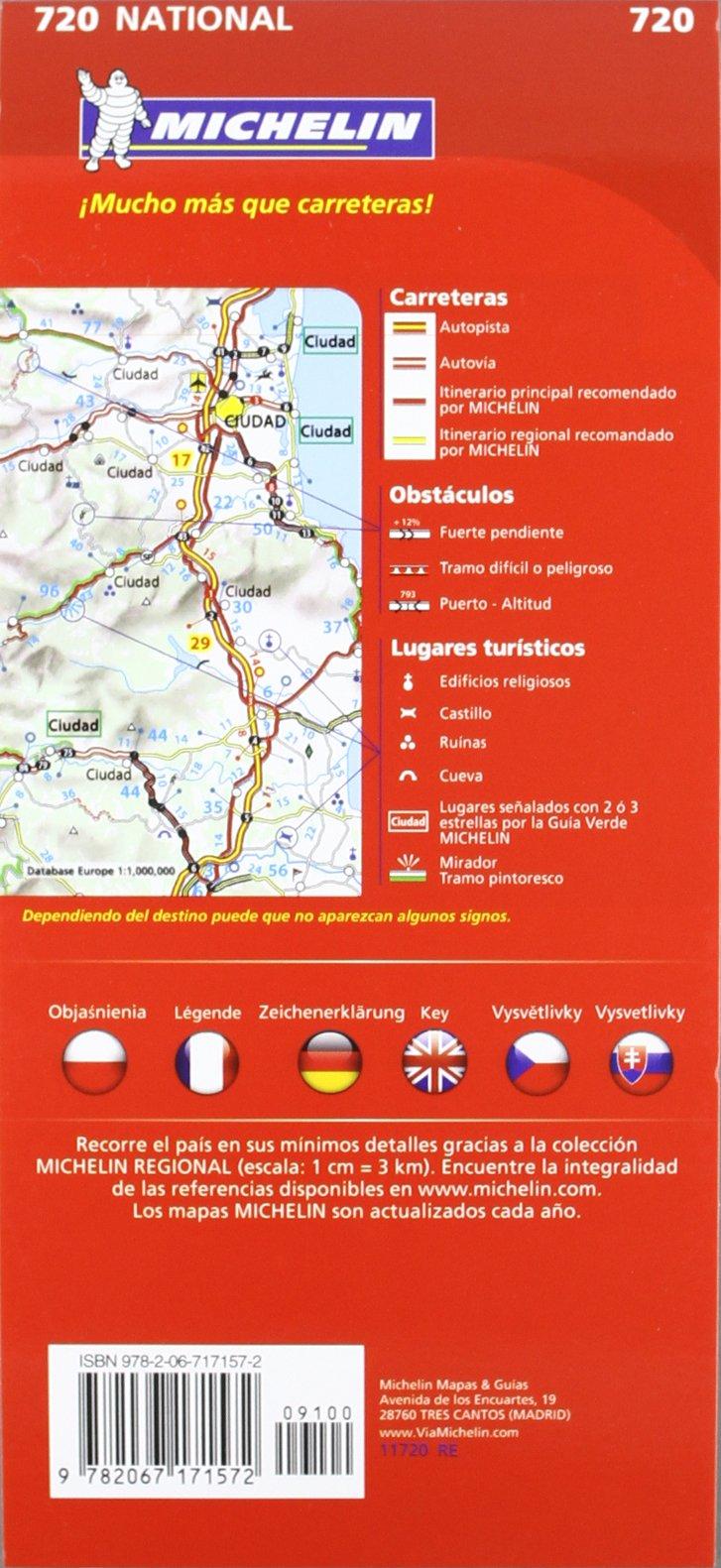 Mapa National Polonia (Mapas National Michelin): Amazon.es: Vv.Aa, Vv.Aa: Libros