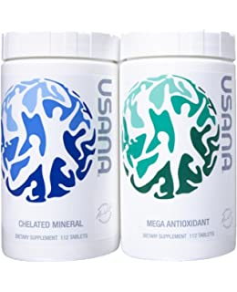 Usana Essentials - 4 Week Supply of Total Body Health, Pack of Mega Antioxidant &