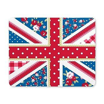 Linda bandera británica de Union Jack en Shabby Chic Estilo ...
