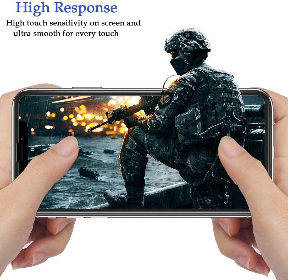 1 Pezzi Vetro Temperato per Huawei Y5 2019 // Huawei Honor 8S,Pellicola Protettiva-Durezza 9H Anti-Impronte Digitali//Graffi,Nessuna Bolla SONWO Alta Trasparenza