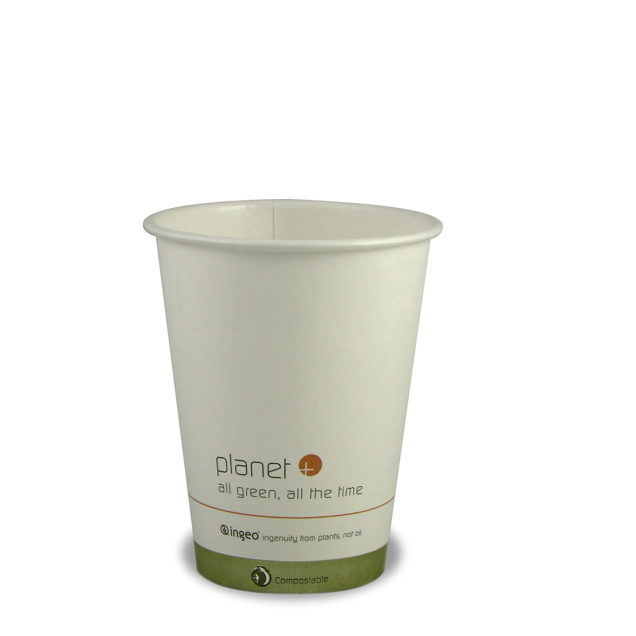 Planet + 100% Compostable PLA Laminated Hot Cup, 12-Ounce, 1000-Count Case by Stalkmarket