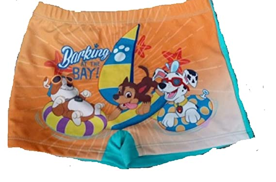 0a2860ceaf975 Boys Paw Patrol Swimming Trunks Boxers Shorts Age 2 3 4 5 6 Years Official  Character: Amazon.co.uk: Clothing