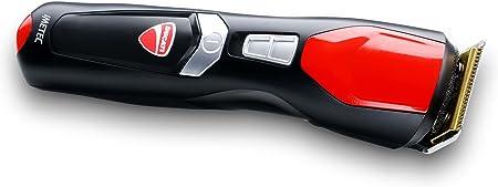 Imetec Ducati - Kit Recortador de Barba GK 808 Circuit, 13 en 1 para Rostro y Cuerpo, Cuchillas Revestidas con Titanio, Cuchilla Extragrande, Retocador de Precisión