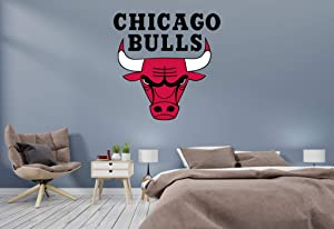 "Basketball Team - NBA Team Logo Wall Decal Vinyl Sticker for Home Interior Decoration Doors Laptop, Window, Mirror, Car (20"" x 20"")"