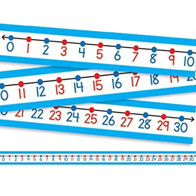 Carson Dellosa Student Number Lines Desk : Learning And Development Toys : Office Products