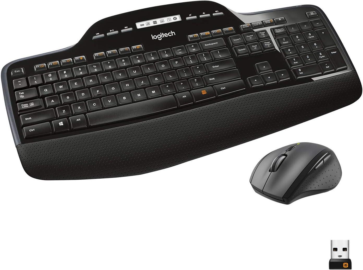 Logitech MK735 Performance Wireless Keyboard & Mouse Combo