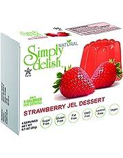 SIMPLY DELISH Jel Dessert, Strawberry, 20g
