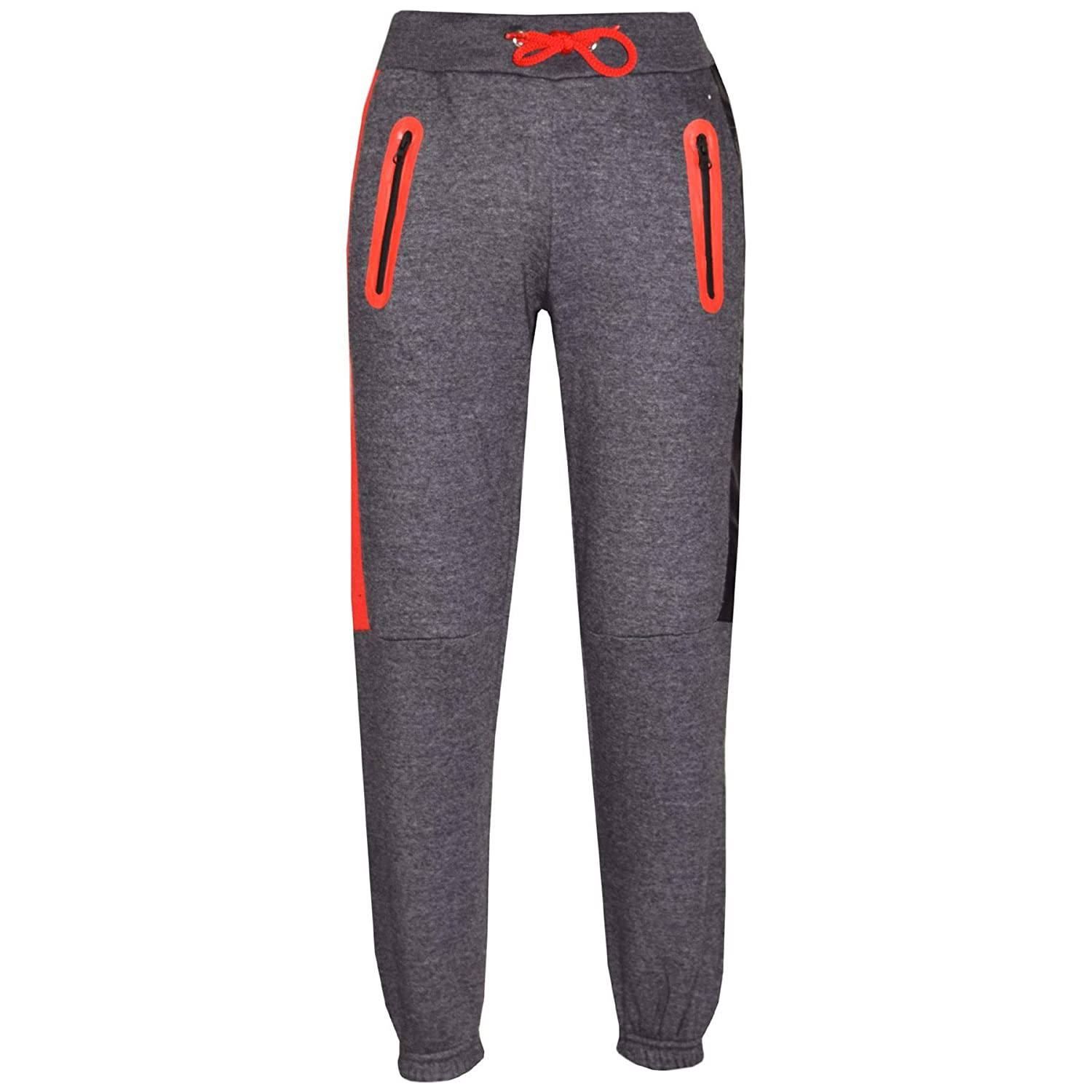 A2Z 4 Kids/® Kids Boys Girls Tracksuit Designers #Selfie Print Charcoal /& Red Zipped Top /& Botom Jogging Suit Joggers Age 5 6 7 8 9 10 11 12 13 Years