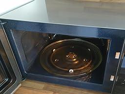 samsung ms23f301easeg mikrowelle 23 l 800 w schwarz silber premium select line. Black Bedroom Furniture Sets. Home Design Ideas