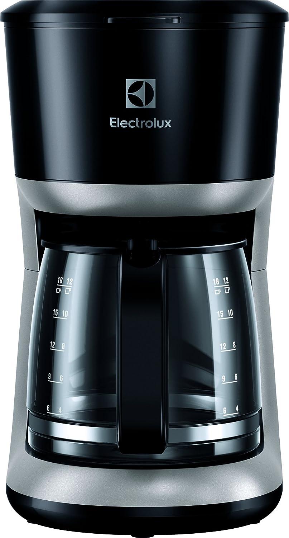 Electrolux EKF3300 Cafetera, 1100 W, 1.65 kg, Plástico, Negro ...