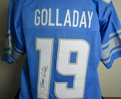 half off 12637 99728 Kenny Golladay autographed signed Detroit Lions Jersey at ...