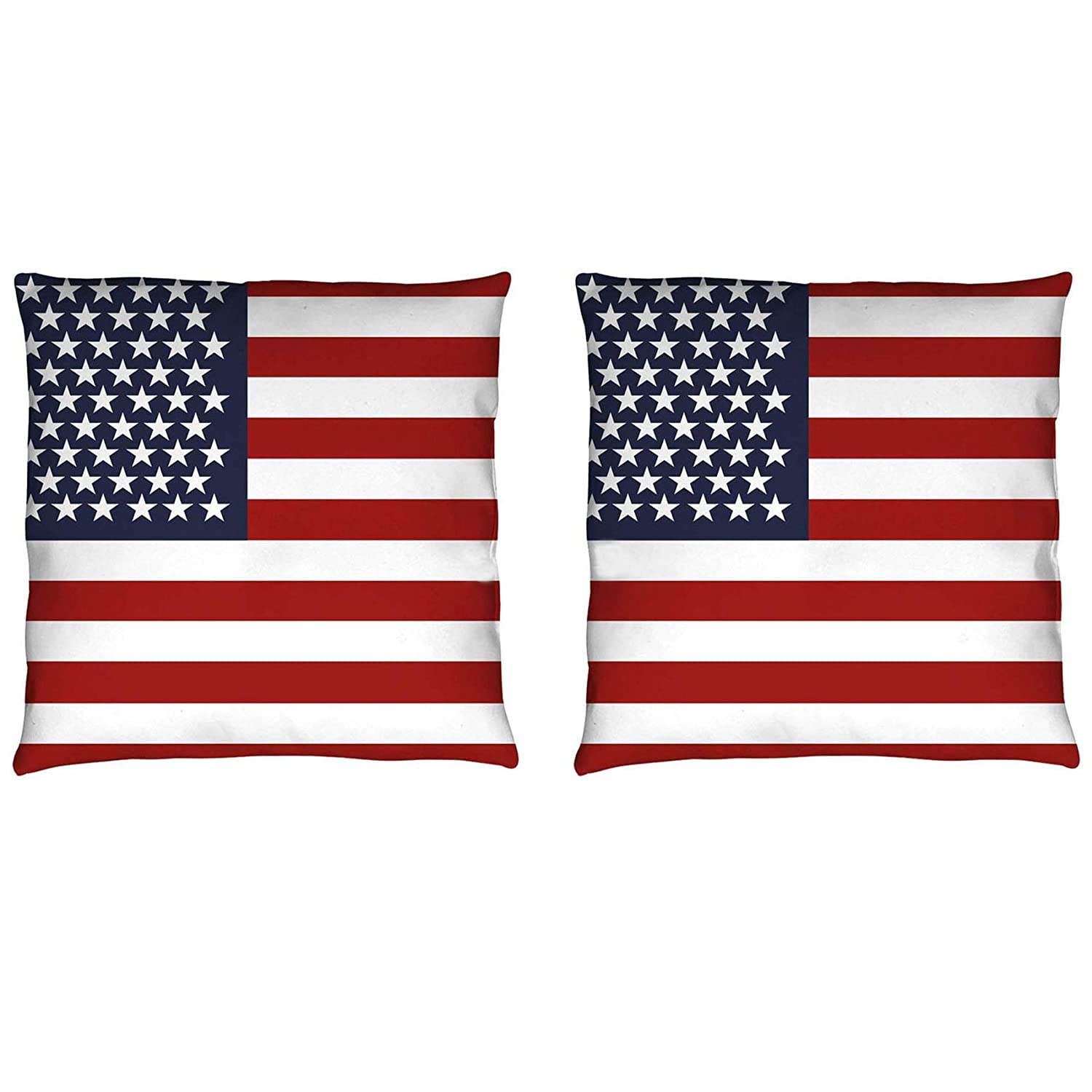 2 Pack UK Flag Pillow Cases 17 x 17 Inch Soft Velvet Pillow Cover Sofa Decorative hrow Pillow Protector Washable Cushion Case Printing(UK,No Pillow Insert) Newweic