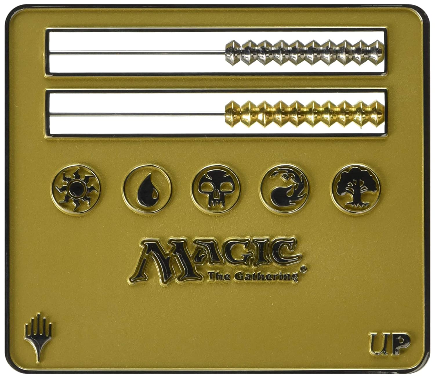 Ultra Pro Life Counter - Gold Abacus Life Counter for Magic: The Gathering