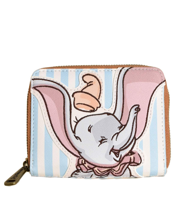 Loungefly Disney's Dumbo Happy Striped Wallet