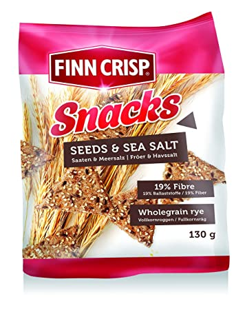 Finn Crisp Snacks Seeds & Sea Salt (2 x ...