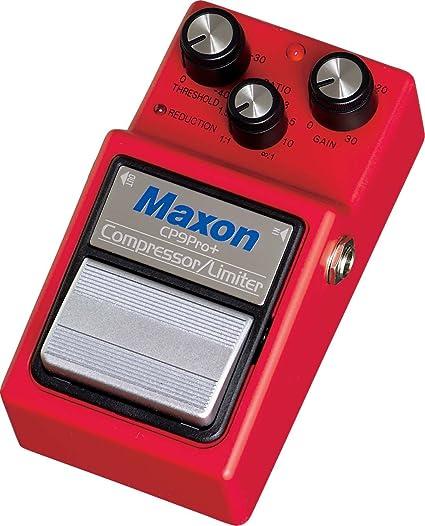 Maxon CP-9 Pro+ Compressor/Limiter · Pedal guitarra eléctrica