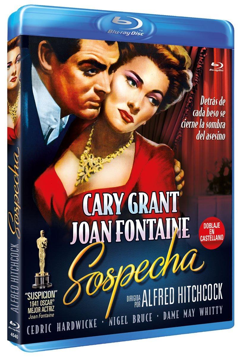 Suspicion aka Sospecha (1941, dir. Alfred Hitchcock) Spanish Resen bootleg Blu-ray