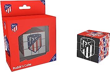 Kick Off 34810 - Cubo Rubik Atletico de Madrid, Multicolor, 5.7 cm: Amazon.es: Juguetes y juegos