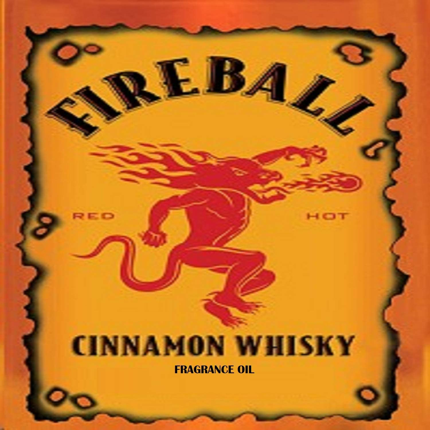 Fireball Whiskey Type Fragrance Oil - 8 oz - for Candle & Soap Making