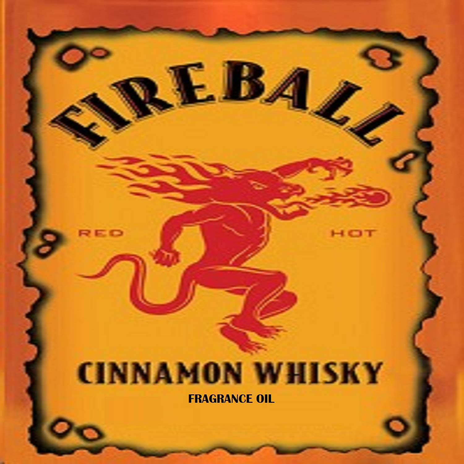Fireball Whiskey Type Fragrance Oil - 1 oz - for Candle & Soap Making