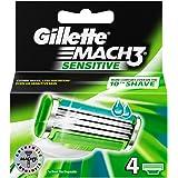 Gillette Mach 3 Sensitive lames de rasage - 4 lames