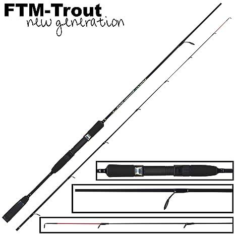FTM Virus Spoon XP 3 2,1 M 2 - 10 G - Caña de spinning para pesca ...