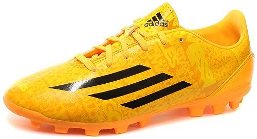 premium selection 7c59b 2015d adidas Bota Jr F10 TRX AG Messi Solar gold-Negra Amazon.es Zapatos y  complementos