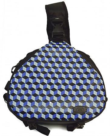 Amazon.com: Cubism en Blue- Gran colorido resistente al agua ...