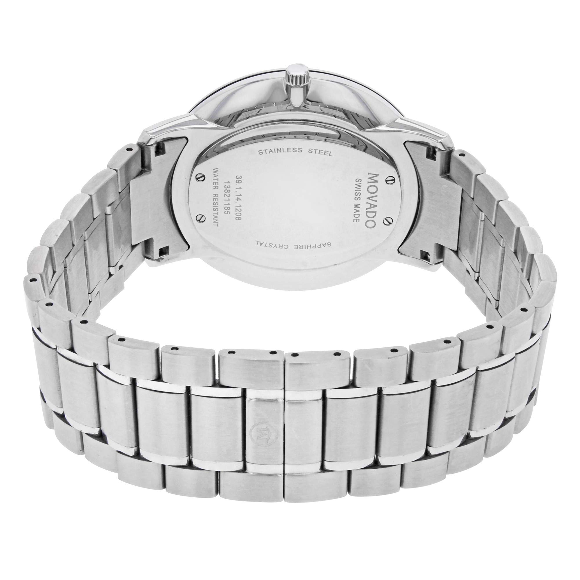Movado Classic Quartz Male Watch 0606687 (Certified Pre-Owned) by Movado (Image #2)