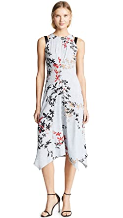 972f4cd0419b Yigal Azrouel Women s Sleeveless Dress with Silver Bobbles at Amazon ...