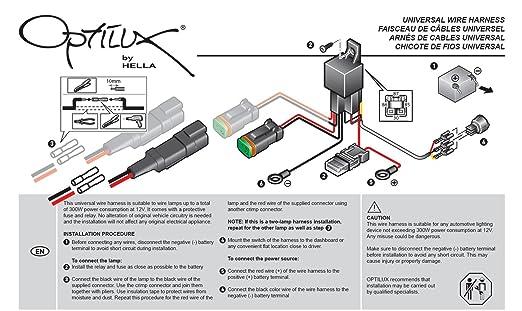 Amazon.com: A H84131151 ValueFit Single Light Wiring Harness ...