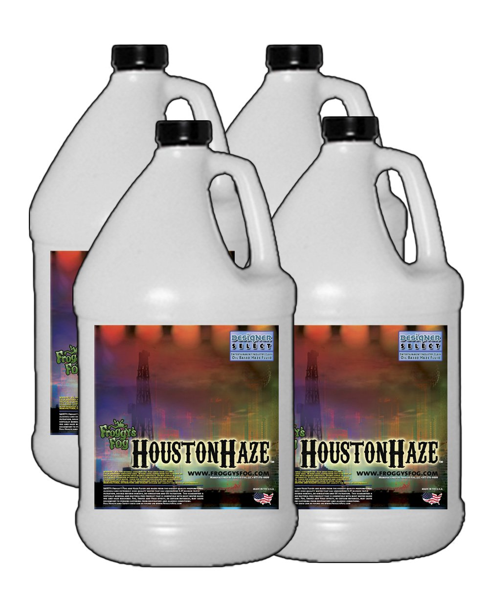 4 Gal - Houston Haze - Designer Select Oil Based Fluid for Haze Generators