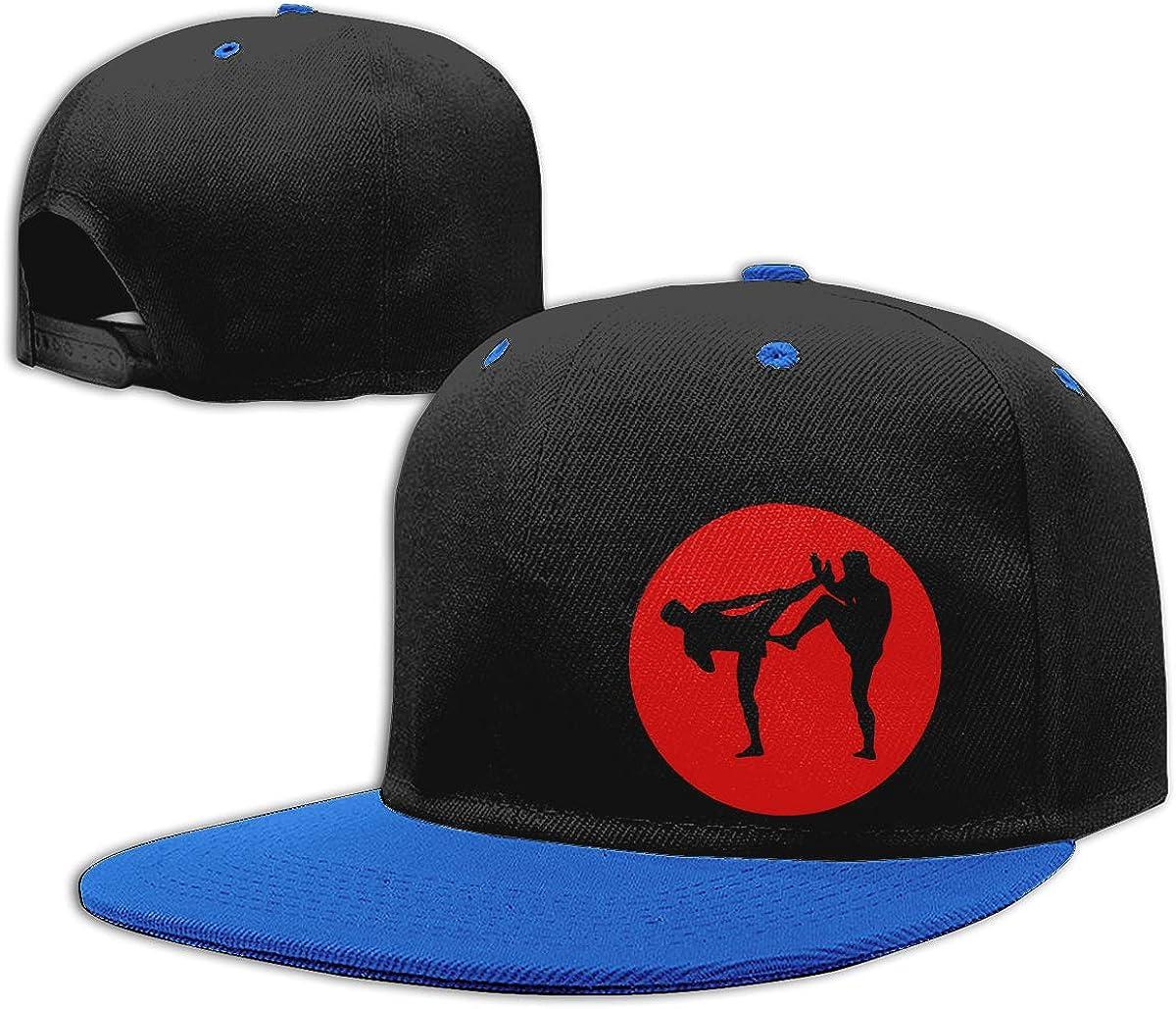 Men Womens Punk Rock Cap Boxing Classic Flat Peaked Baseball Caps