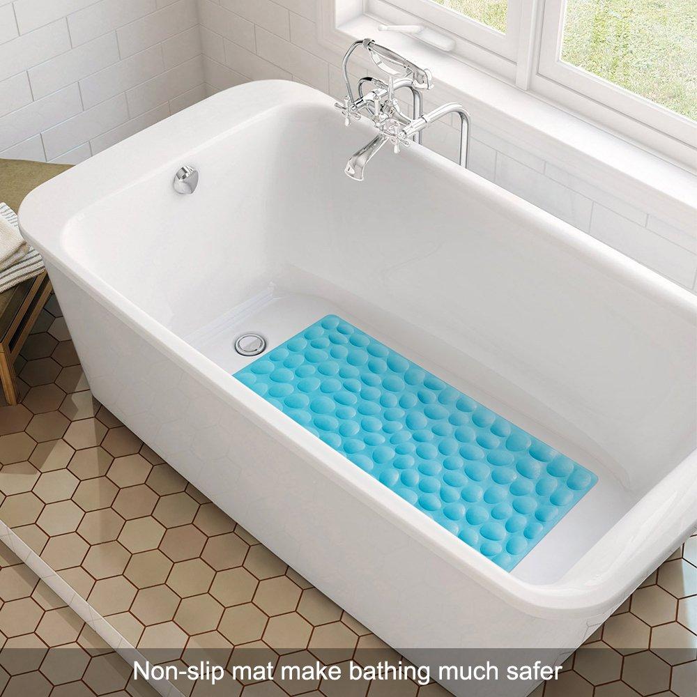 Amazon.com: OTHWAY Non-Slip Bathtub Mat Soft Rubber Bathroom Bathmat ...
