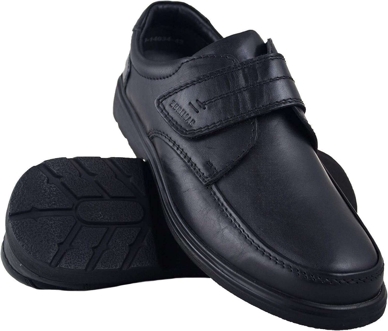 TALLA 45 EU. Zerimar Zapatos Hombres | Zapatos de Piel| Zapatos Vestir |Zapatos hostelería| Zapatos Confortables| Zapatos de camareros