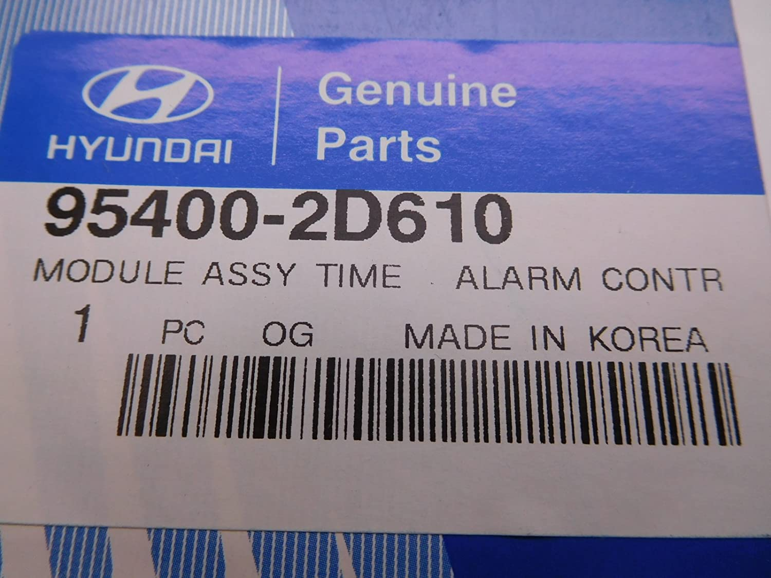 Genuine Hyundai 95400-2D610 Time Alarm and Receiver Module Assembly