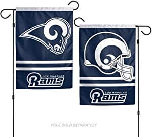 Stockdale Los Angeles Rams WC Garden Flag Premium 2-Sided Outdoor House Banner Football
